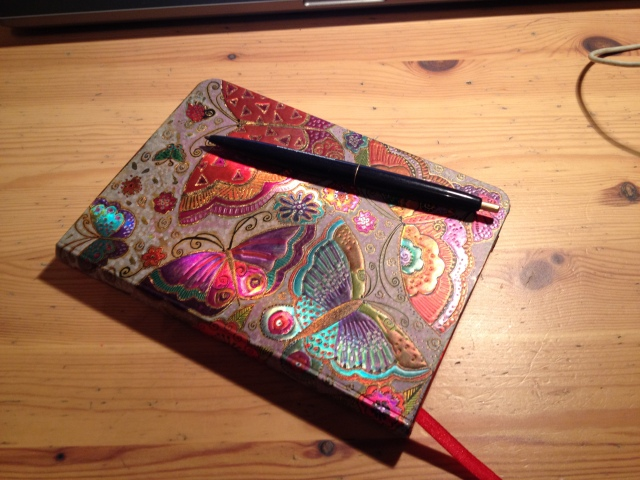 My gorgeous appreciation notebook - I feel there is extra magic, when you actually write it down!